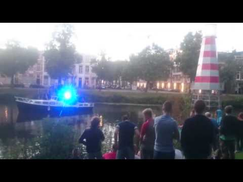 LSD Sound System - Free Party from Boat in Breda (NL) - 21/07/2015