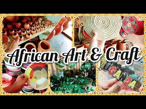 African Craft Market Tour | A place you must visit in Kampala, Uganda |