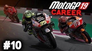 MotoGP 19 Career Mode Gameplay Part 10 - MOTO2 DEBUT! (MotoGP 2019 Game Career Mode PS4 / PC)