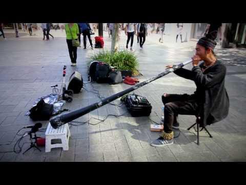 Yoon Hwan Kim - Didgeridoo - live in Perth Australia - 2016
