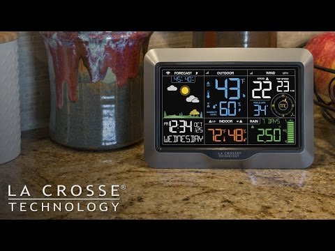New 2017 Professional Weather Station