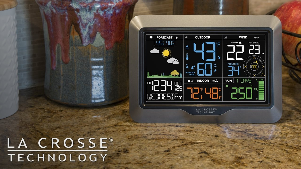 330 2315 Professional Weather Station   YouTube