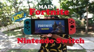 main fortnite di nintendo switch bisa voice chat juga fortnite nintendo switch - fortnite chat on nintendo switch