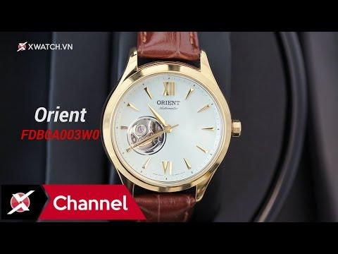 Đồng hồ Orient FDB0A003W0: Thiết kế lộ cơ quyến rũ dành cho phái đẹp