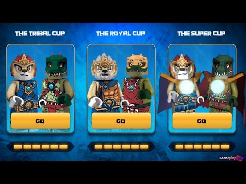LEGO Legends of CHIMA: Speedorz - The Super Cup - Game APP for Kids - Gameplay, Walkthrough, Review