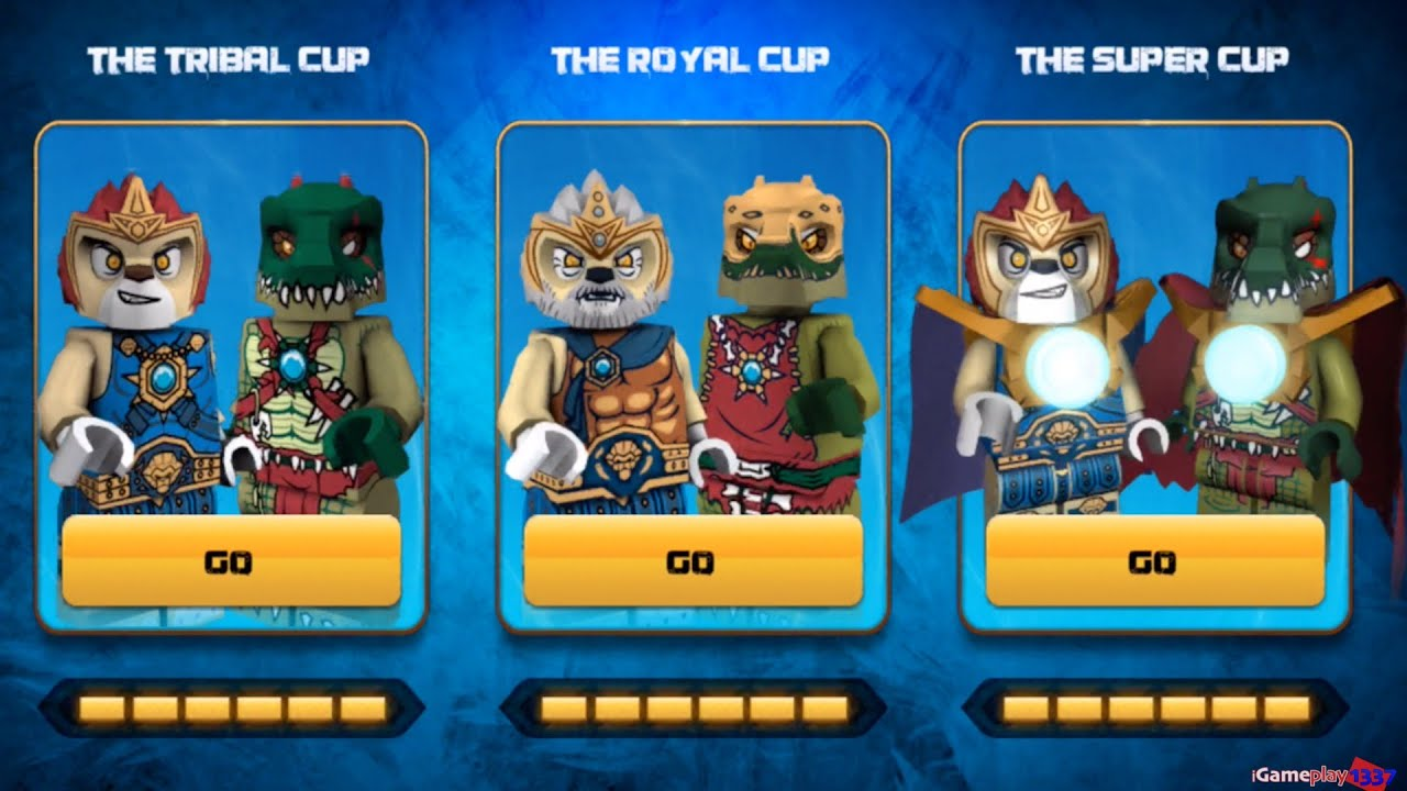 LEGO Legends of CHIMA: Speedorz – The Super Cup – Game APP for Kids – Gameplay, Walkthrough, Review