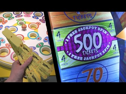 HOW TO WIN BIG AT THE ARCADE!