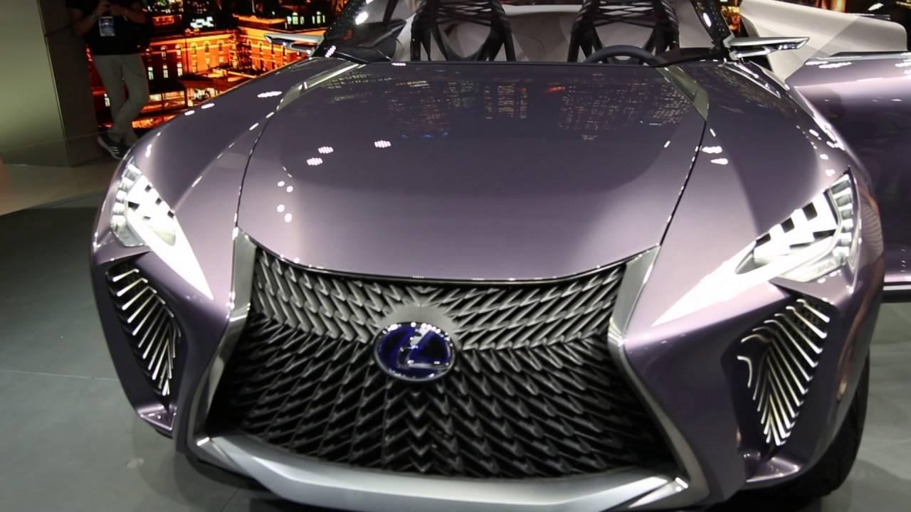 Live from 2016 Paris Auto Show // Lexus UX concept - YouTube
