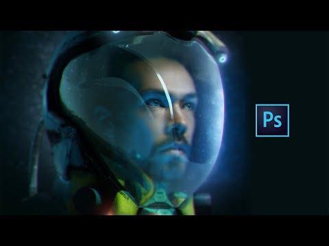 Это ПРОСТО КОСМОС! Как Сделать Космический Шлем В Фотошопе ?