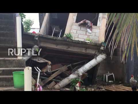 Mexico: Largest earthquake in decades wrecks homes in Veracruz