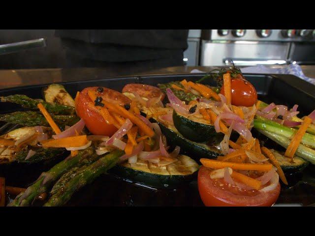 Grillgemüse mit Escabeche-Sauce #GRILLDOCHEINFACH