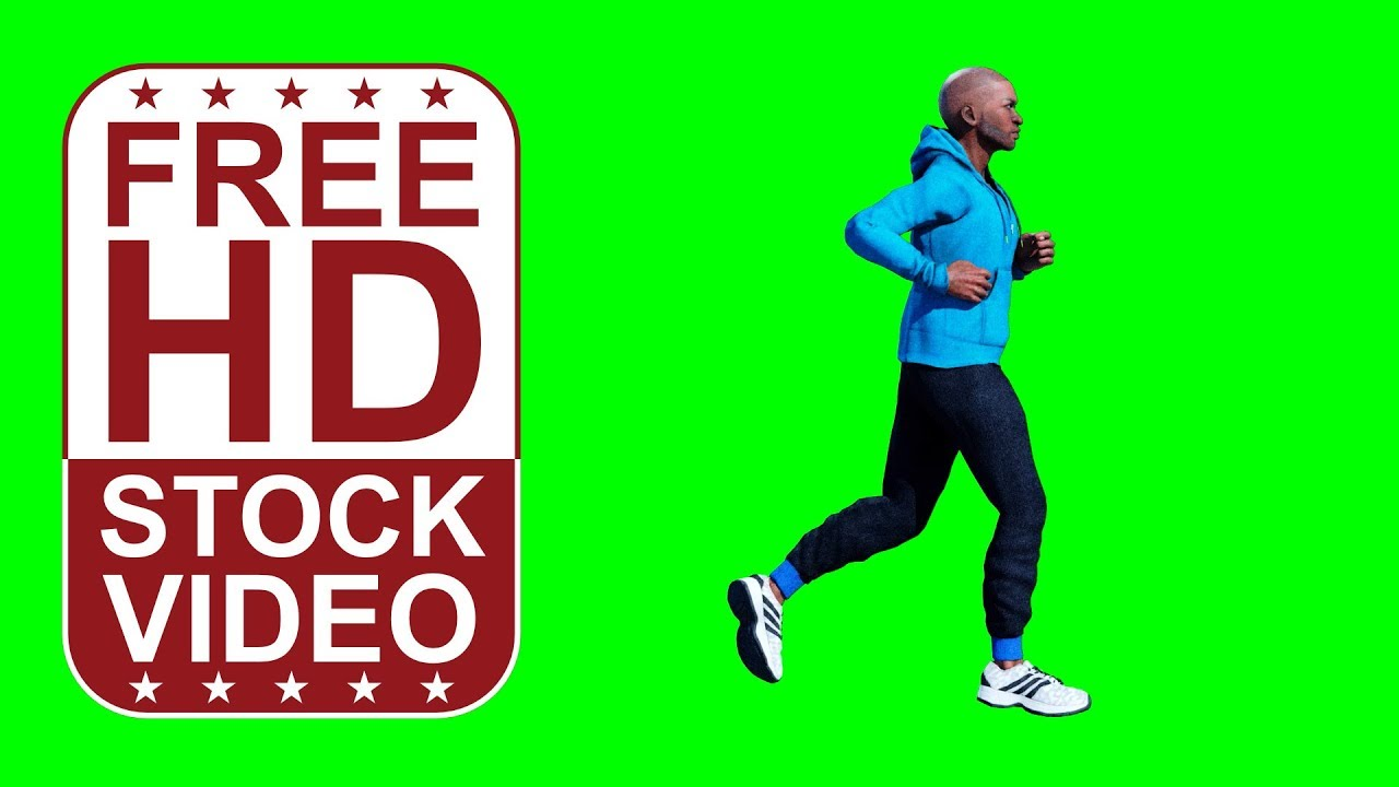Animated Person Running