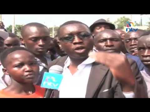 NASA Baringo rally disrupted by heckling youth