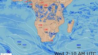 Southern Africa Weather Forecast HD: 18 Nov 2018 [Updated at 1800 hours UTC]