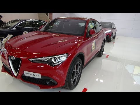 2018 Finalist Car of the Year - Alfa Romeo Stelvio - Bologna Motor Show 2017