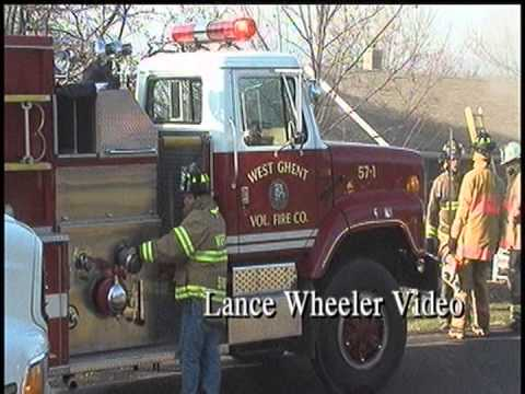 Fire Forces Family from Claverack Home- Lance Wheeler Video