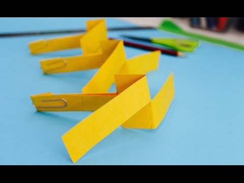 Easy Paper Craft How To Make A Paper Helicopter Youtube