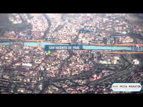 Recorrido de la Media Maratón «Ibercaja-Ciudad de Zaragoza» 2018
