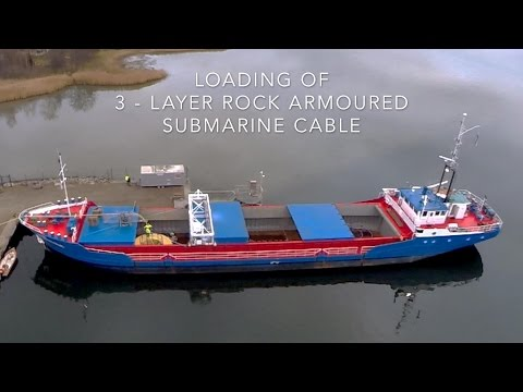 Hexatronic ships submarine cables from its own harbor to customers around the world.