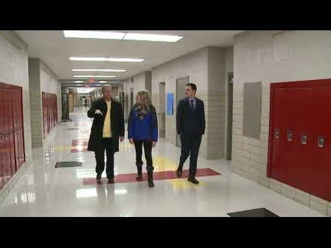 WKBN tours Cardinal Mooney High School
