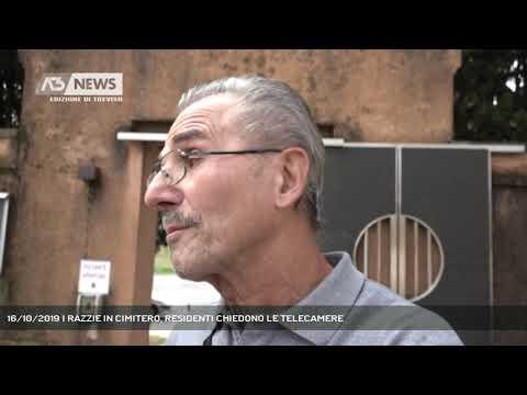 16/10/2019 | RAZZIE IN CIMITERO, RESIDENTI CHIEDON...