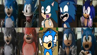 Sonic The Hedgehog Movie Uhh...Meow Compilation Too Much Screen