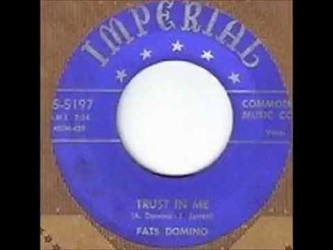 Fats Domino - Trust In Me - April 26, 1952