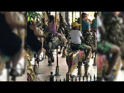 Montreal amusement park removes carousel horse with Indigenous man's severed head