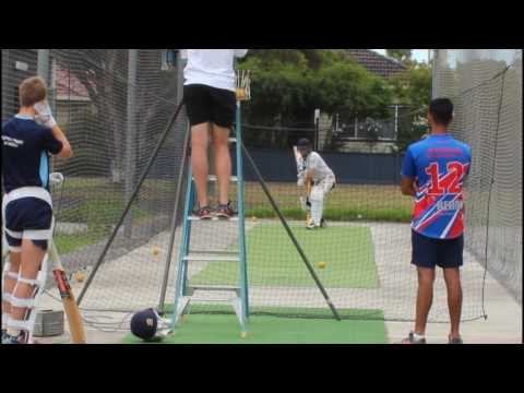 First Cricket net 2017 academy AUSTRALIA