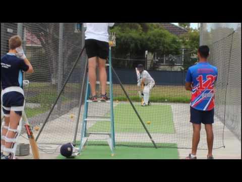 First Cricket net 2017 academy AUSTRALIA