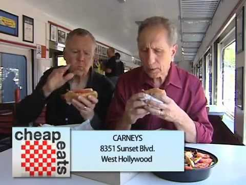 Cheap Eats - Carney's Sunset Strip West Hollywood California