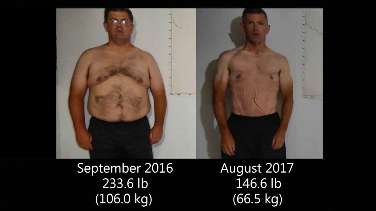Time-Lapse Weight Loss Transformation