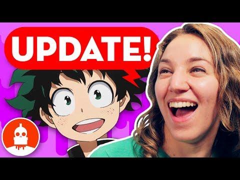 June Update - My Hero Academia, Anime, New Shows on Cartoon Hangover