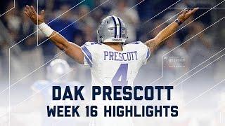 Dak Prescott 3 TD Night! | Lions vs. Cowboys | NFL Week 16 Player Highlights