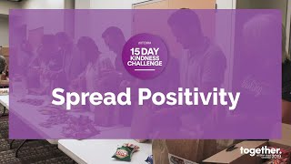 Spread Positivity | doTERRA Kindness Challenge Act 13