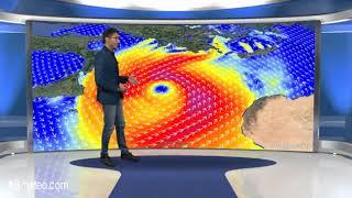 Ciclone Mediterraneo punta la Grecia! probabile Medicane