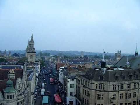 Oxford Treble Bob From Carfax Tower Oxford For The Royal Wedding