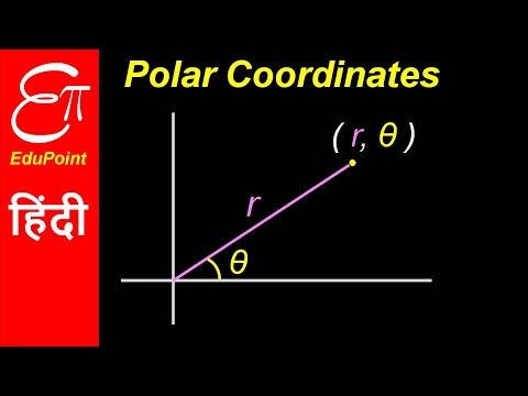 Polar Coordinate System ★ video in HINDI ★ EduPoint