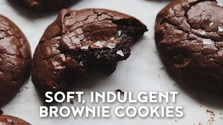 Soft, Fudgey Brownie Cookies R…