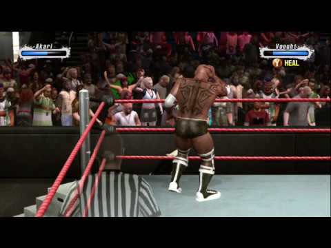 WWE SvR 09 Nightowl83 vs. RoutanBoom(5)