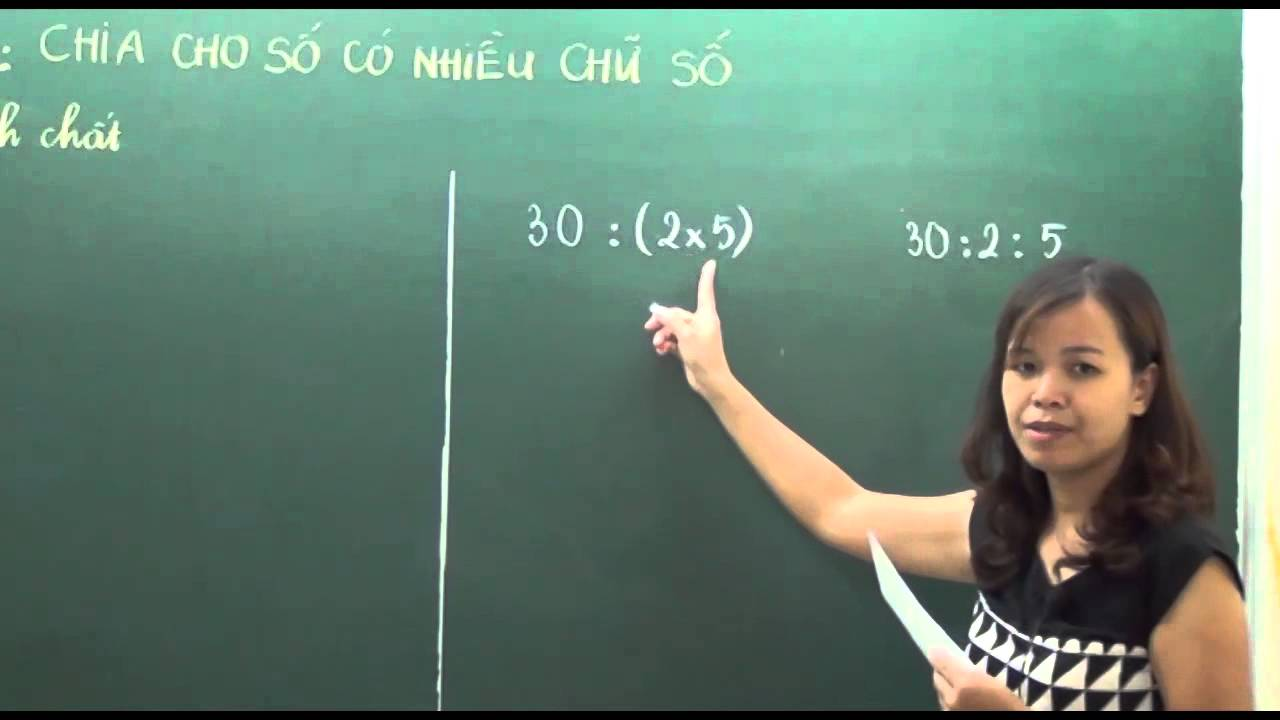 Toán lớp 4 – Chia cho số có nhiều chữ số – Cô Phùng Thu Hòa [Hocmai.vn]