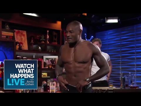 Tyson Beckford in His Underwear!  WWHL