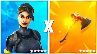 10 TRYHARD SKINS COMBO on FORTNITE!! #1🔥
