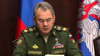 Сергей Шойгу: Из-за ударов ВКС РФ террористы в Сирии ежедневно теряют $1,5 млн