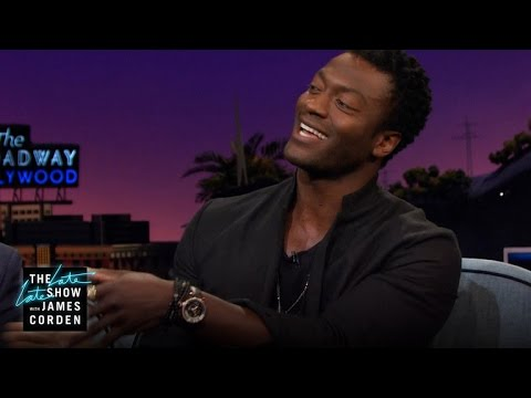 Aldis Hodge Lets James Test Drive a Bangle