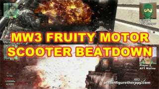 US Marine Devastates Paris In Call Of Duty - Fruity Motor Bike Destruction!