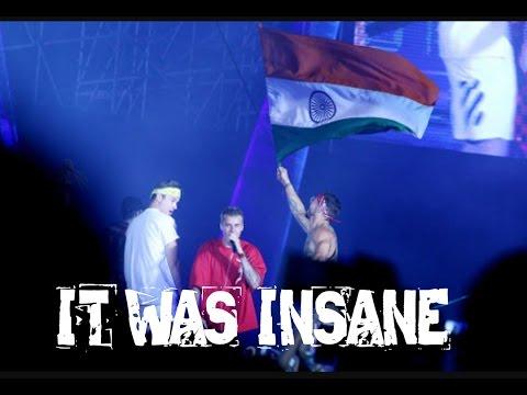 Justin Bieber Full Concert In D.Y. Patil Stadium Mumbai For Purpose Tour