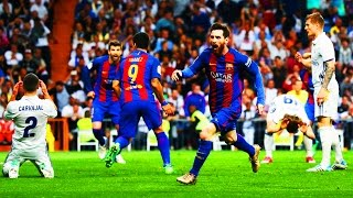 Real Madrid 2 - 3 Barcelona | Narracion Alfredo Martinez