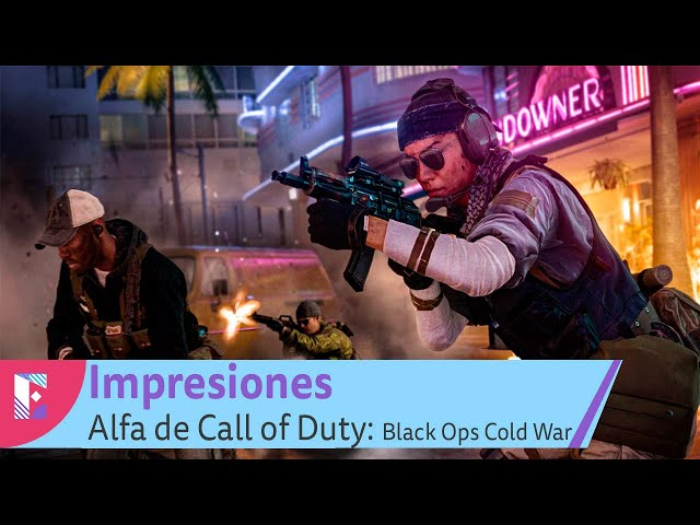Alfa de Call of Duty: Black Ops Cold War - Impresiones