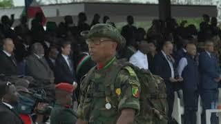 MME SASSOU AU CINQUANTENAIRE DE L'INDEPENDANCE DE LA GUINEE EQUATORIALE